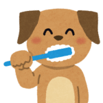 dog teeth brushing, dog grooming,