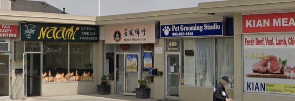 pet grooming studio, plaza